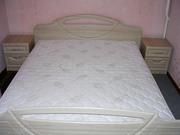 Кровать двуспальную с матрасом   бу