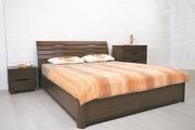 Бесплатная доставка к двери. Кровать Марита деревянная 1, 6х2 м